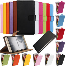 Case for Huawei P8 P8 Lite P7 P6 Flip Leather