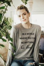 BE KIND LONG SLEEVE TEE
