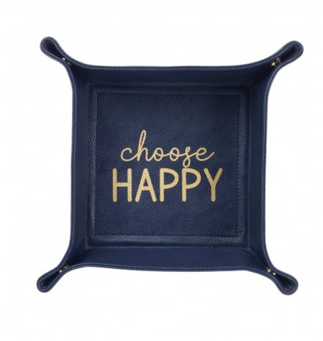 Choose Happy Trinket Tray