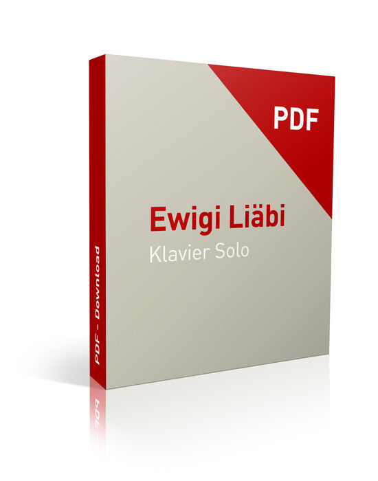 Ewigi Liebi Klavier - Download