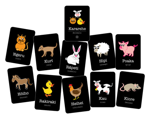 Flashcards - Kararehe (Animals)