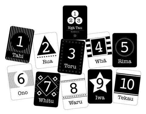 Flashcards - Ngā Tau (Numbers)