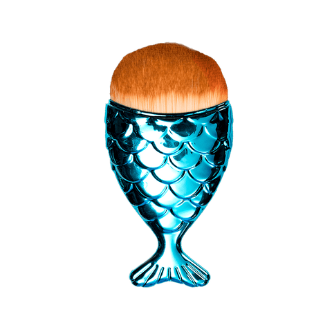 Turquoise Mermaid Brush