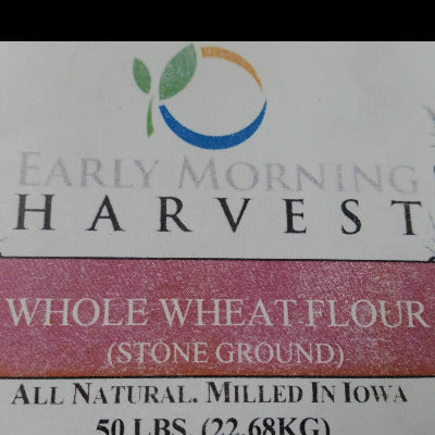 IFH Early Morning Harvest Flour, Whole Wheat, 50 lb