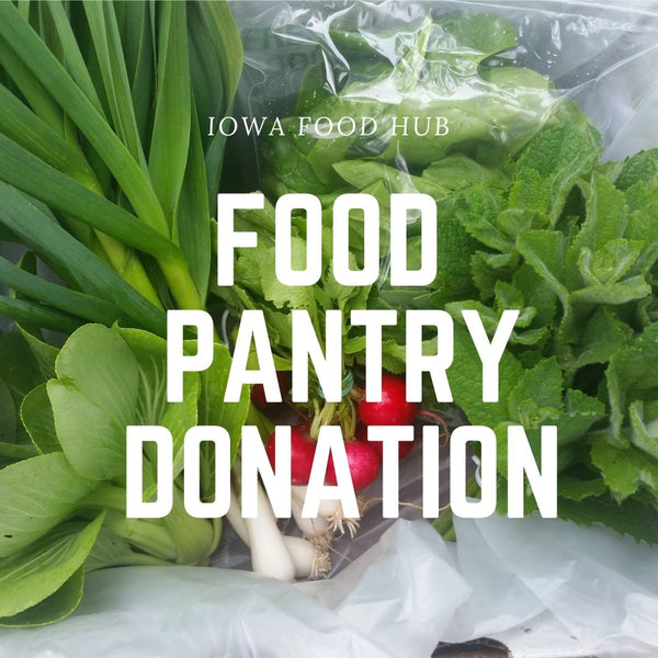 IFH Food Pantry Donation