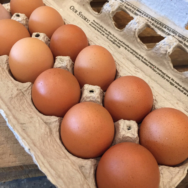 CRF Free Range Eggs, Large - Dozen