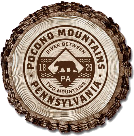 Pocono Mountains Bark Magnet - Definition of Pocono