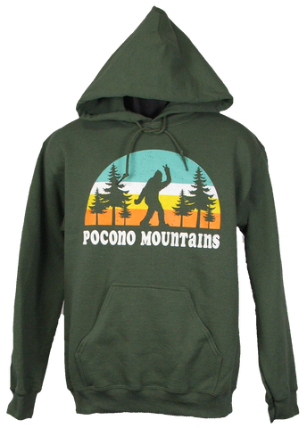 Pocono Souvenir Hooded Sweatshirt
