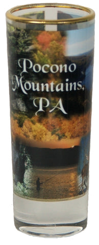 Pocono Mountains Scenic Shooter Shot Glass