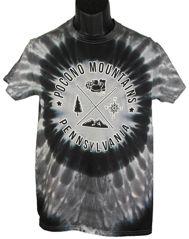 Pocono Mountains EyeDyeBullet Tee Shirt