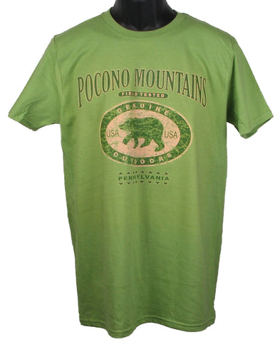 Pocono Mountains Field Tested Tee Shirt