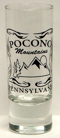 Pocono Mountain Shooter Shot Glass