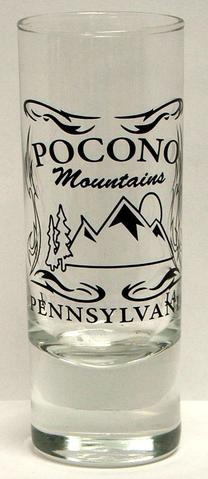 Pocono Mountain Tattoo Shooter Shot Glass