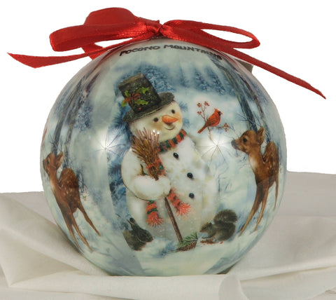 Pocono Mountains Christmas Ornament