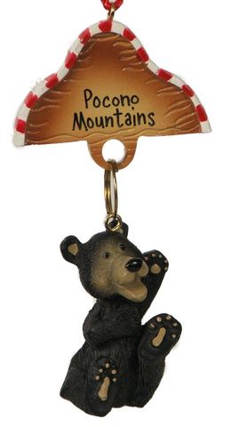 Tiny Toes Bear Ornament