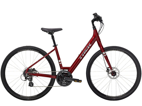 Trek Verve 2 Low Step Hybrid Bicycle - 2021