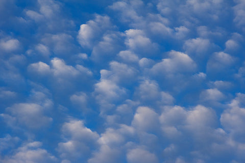 Clouds - Blue and White