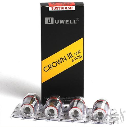 Crown III 4pack Atomizers