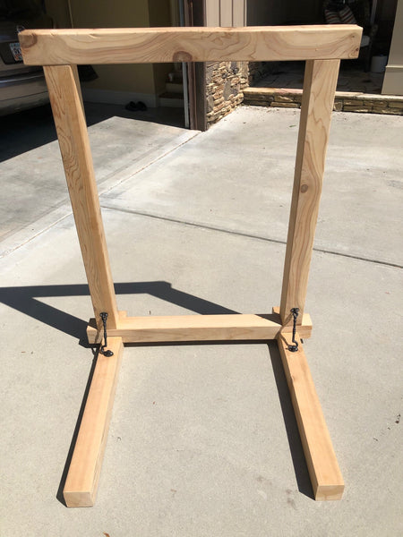 Cedar Wooden Frame - Disassembled