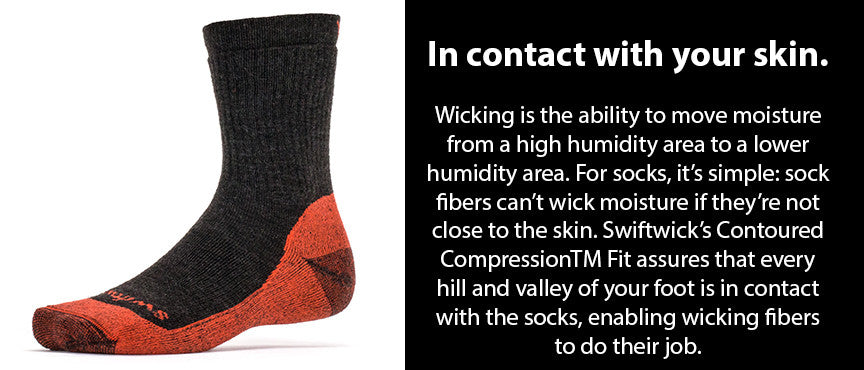 Swiftwick Moisture Wicking Sock