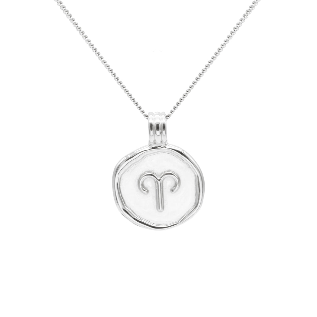 ZODIAC - Aries Necklace Silver