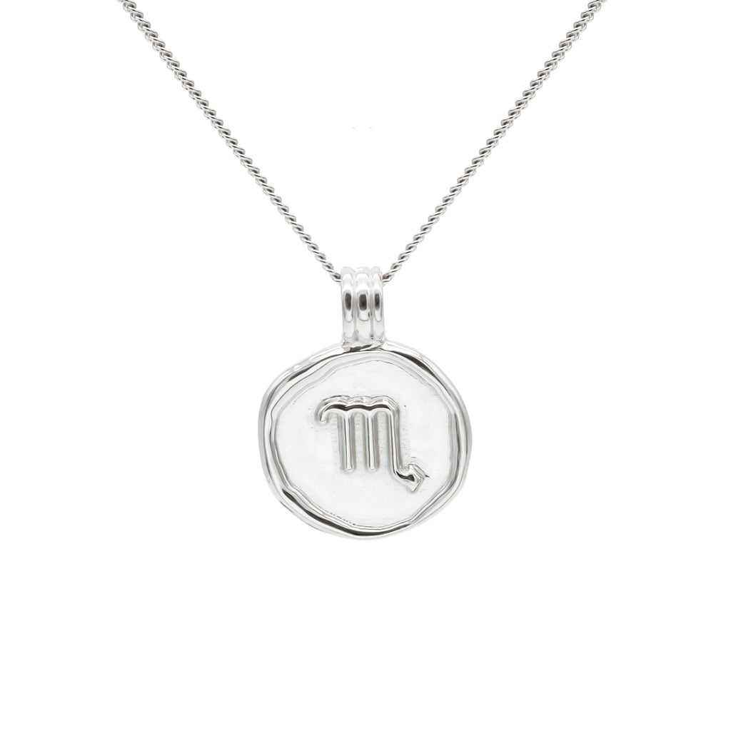 ZODIAC - Scorpio Necklace Silver