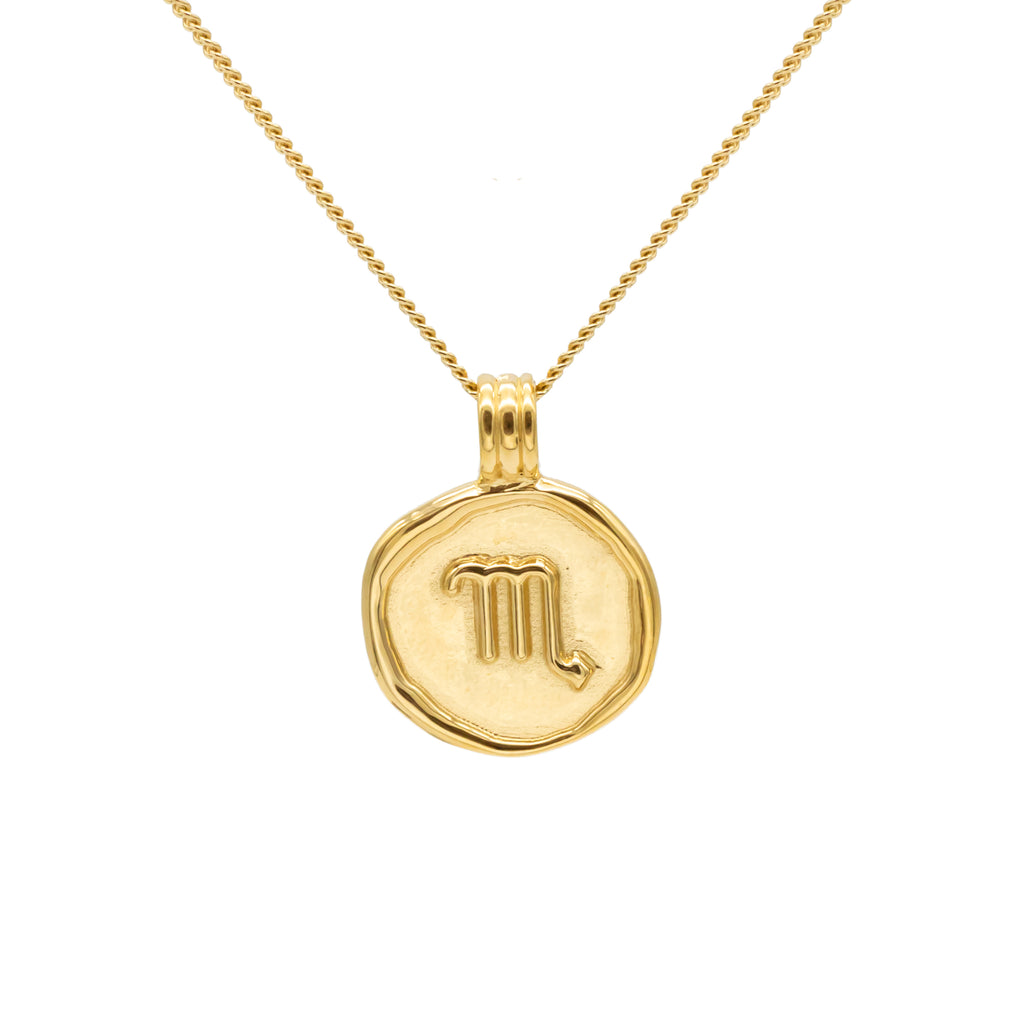 ZODIAC - Scorpio Necklace Gold