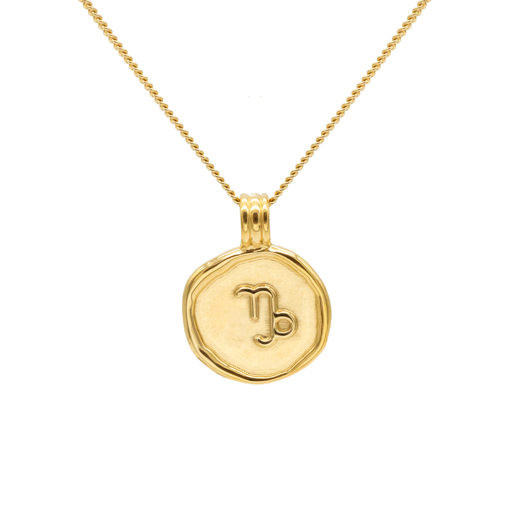 ZODIAC - Capricorn Necklace Gold