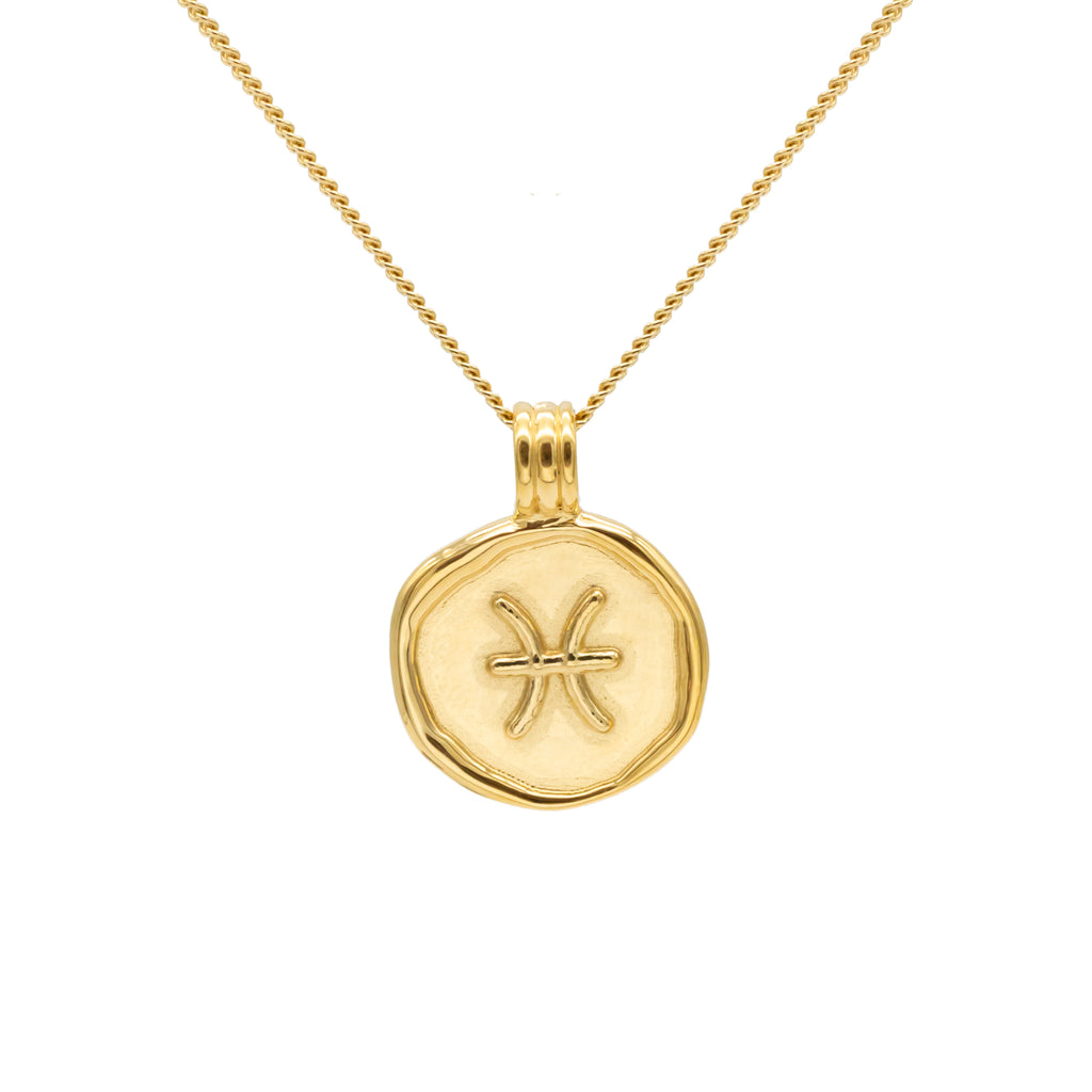ZODIAC - Pisces Necklace Gold