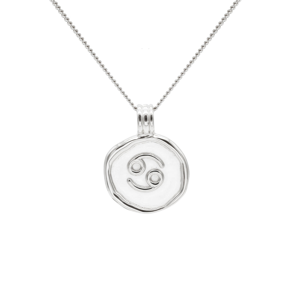 ZODIAC - Cancer Necklace Silver