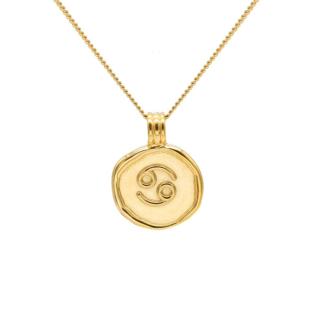 ZODIAC - Cancer Necklace Gold