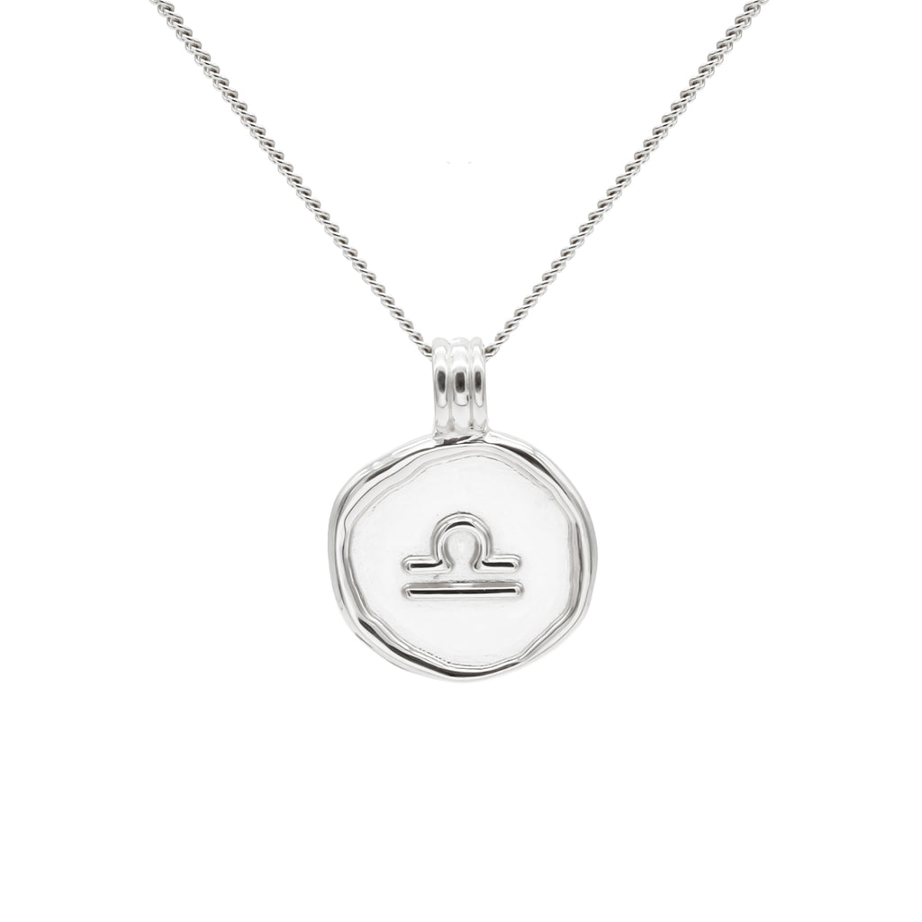 ZODIAC - Libra Necklace Silver