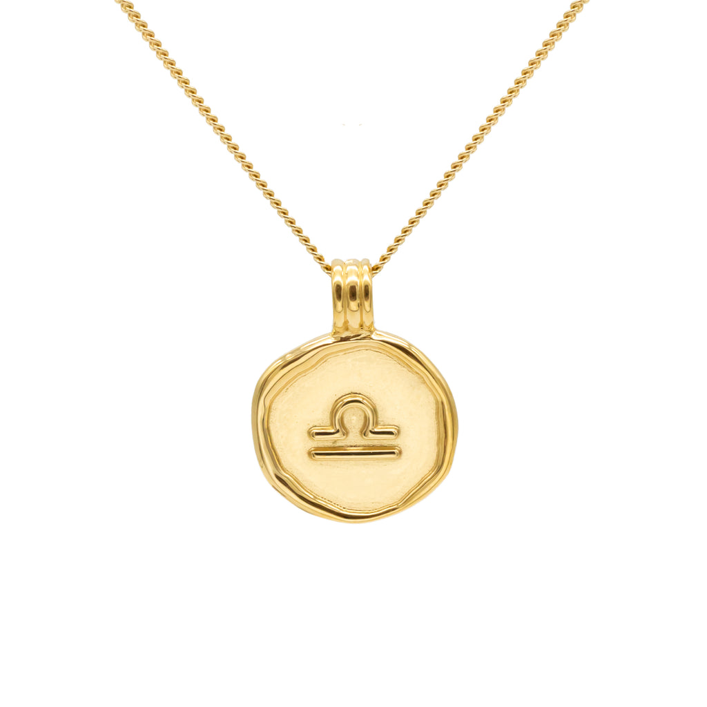 ZODIAC - Libra Necklace Gold
