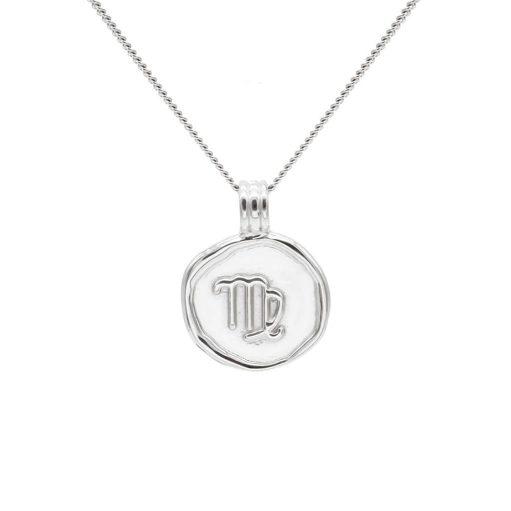 ZODIAC - Virgo Necklace Silver