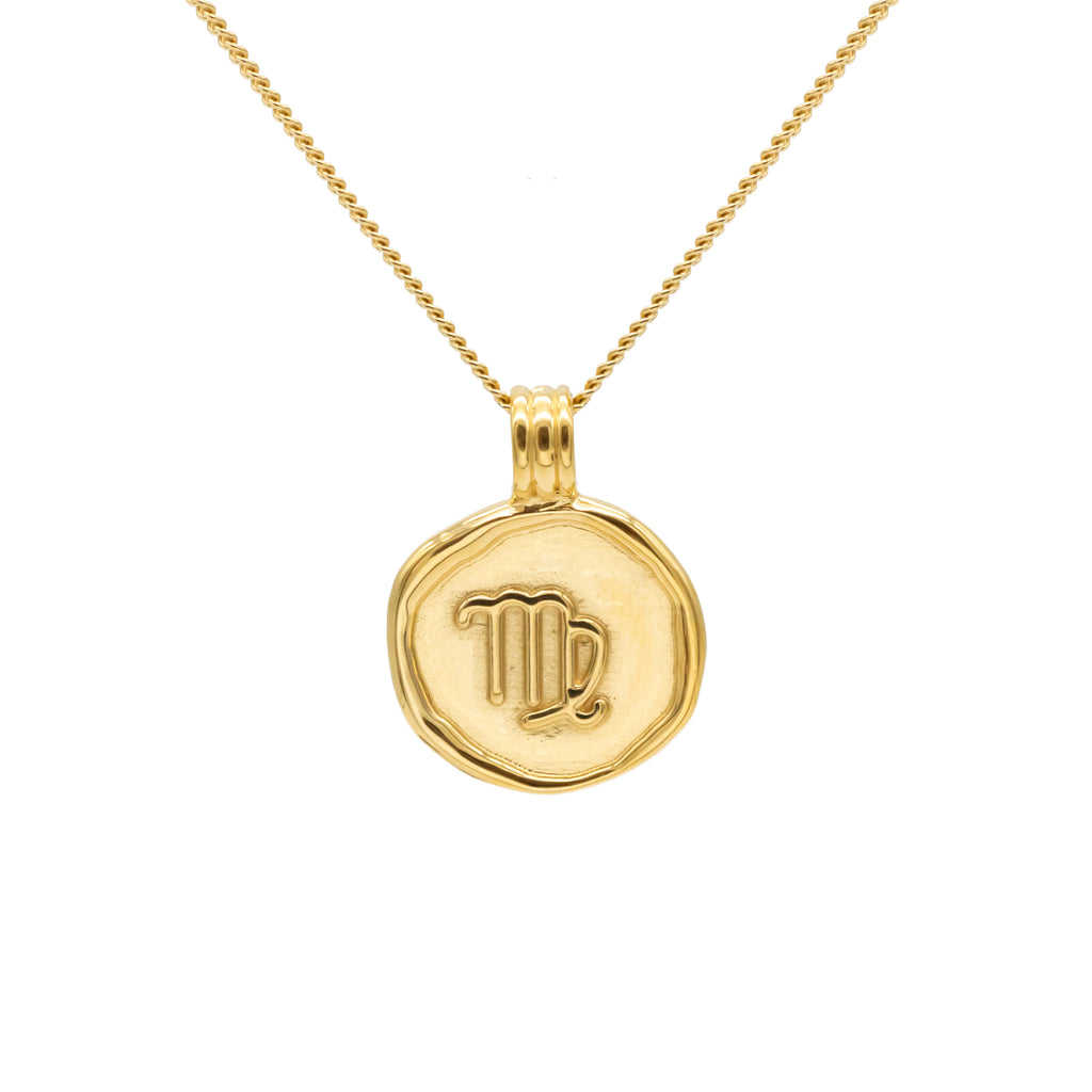 ZODIAC - Virgo Necklace Gold