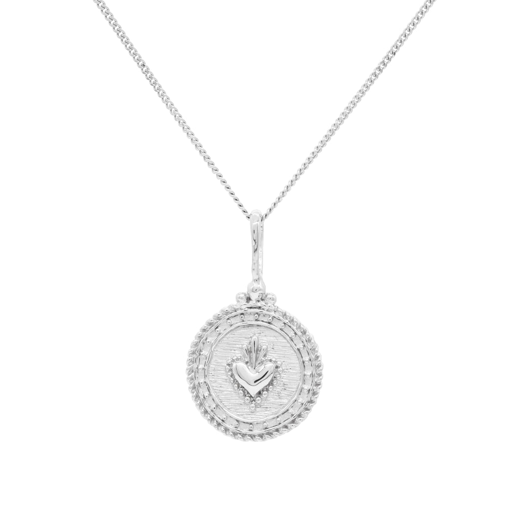 Sacre Coeur Necklace Silver