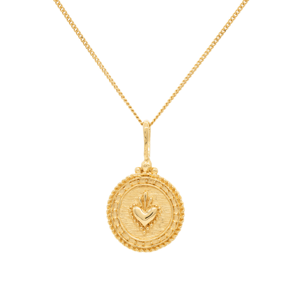 Sacre Coeur Necklace Gold