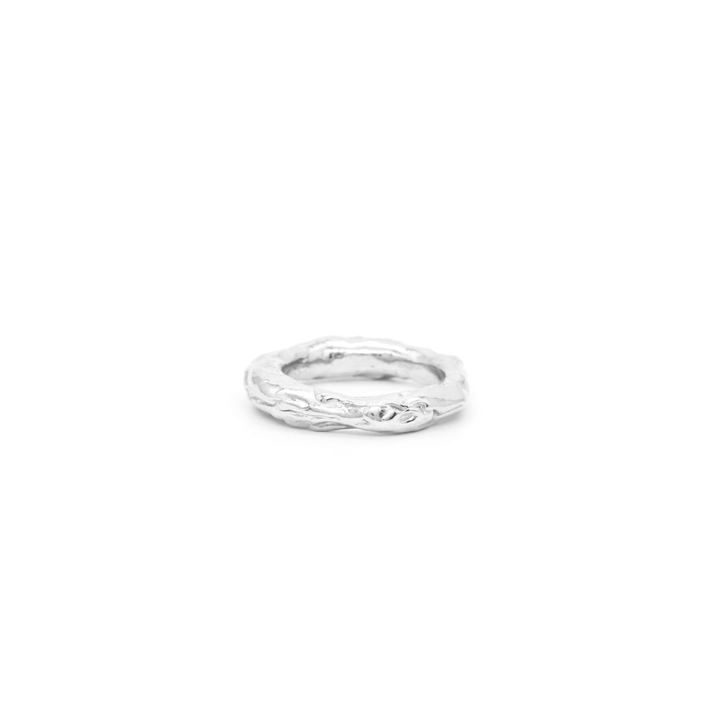 The Melty Ring Silver