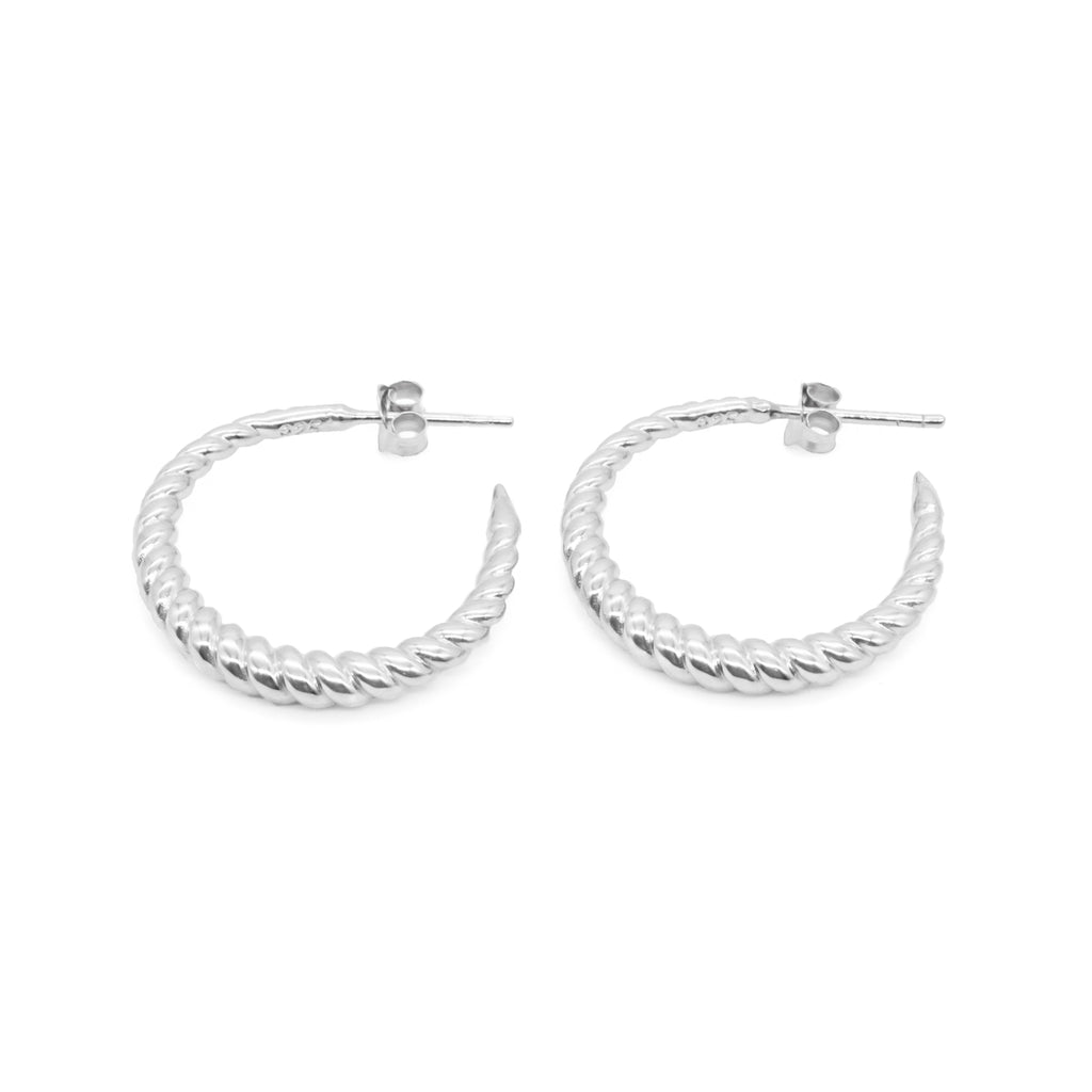 Hestia Earrings Silver