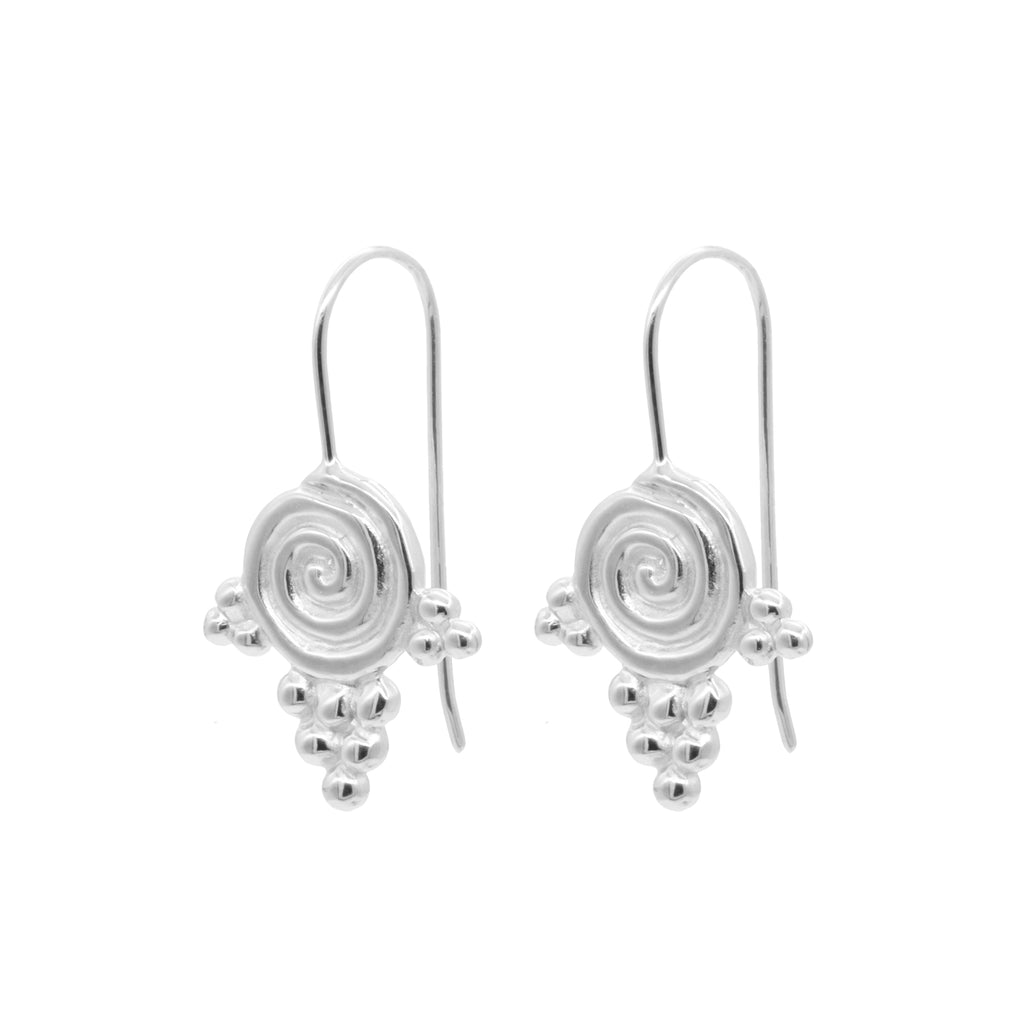 Daphne Earrings Silver
