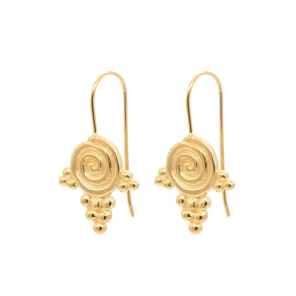 Daphne Earrings Gold