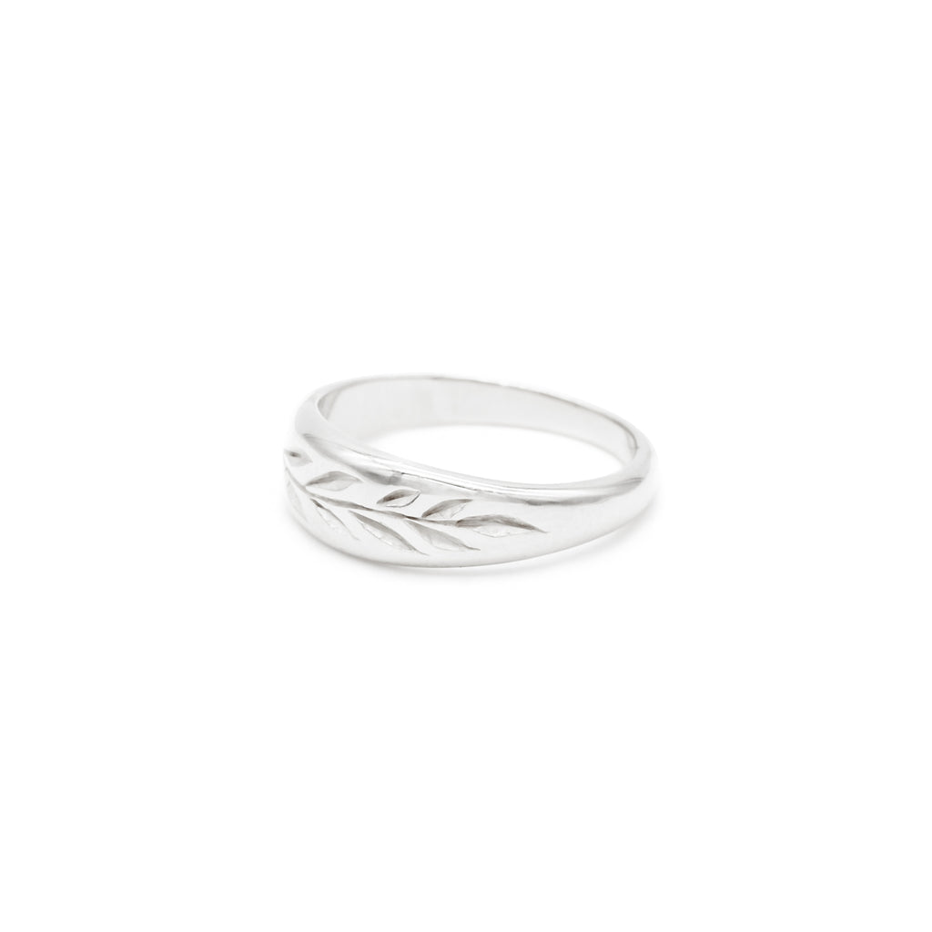 Plant Lover Ring Silver