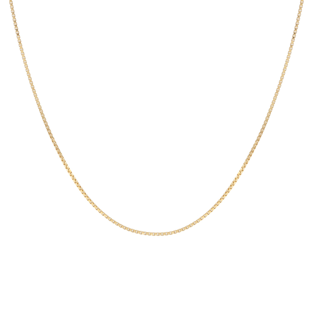 Delicate Box Choker Gold
