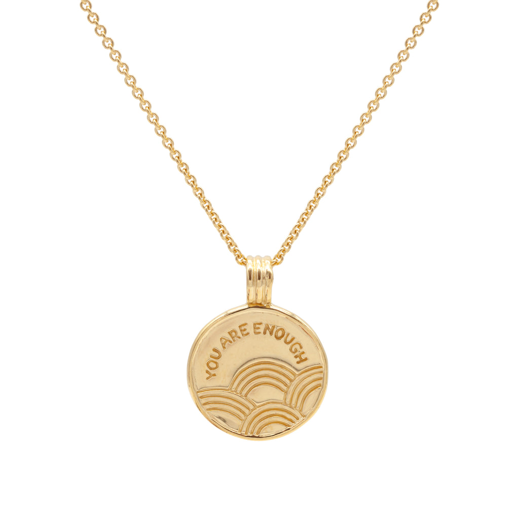PRE-ORDER! YOU ARE ENOUGH Necklace Gold