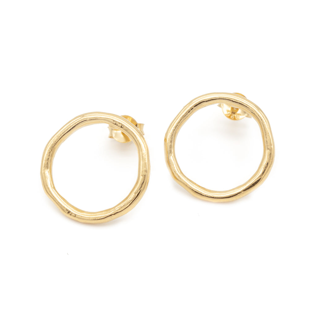 Irregular Earrings Gold