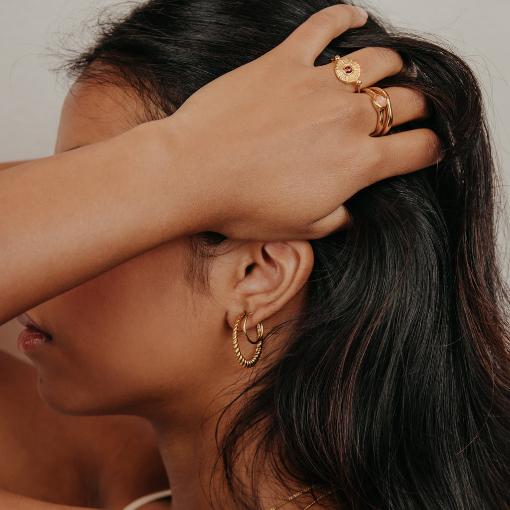 Hestia Earrings Gold
