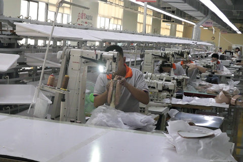 Factory where FERRON bags are produced