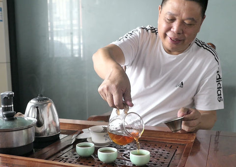 visit to China, traditional Chinese tea drinking