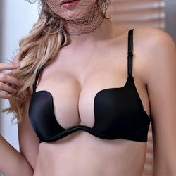 Girly Sales Deep U Low Cut - Push Up Bra