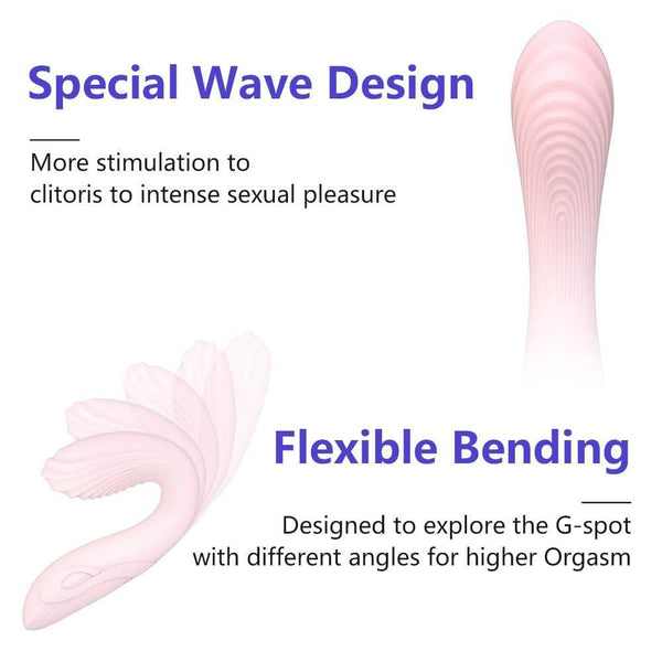 Girly Sales Special Wave&Flexible Vibrator